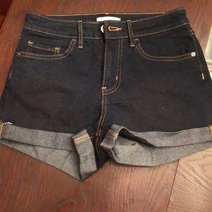 H&M blue jean shorts